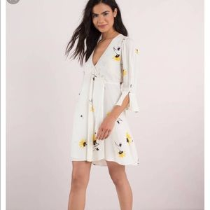 Free People Time On My Side sunflower dress Size L